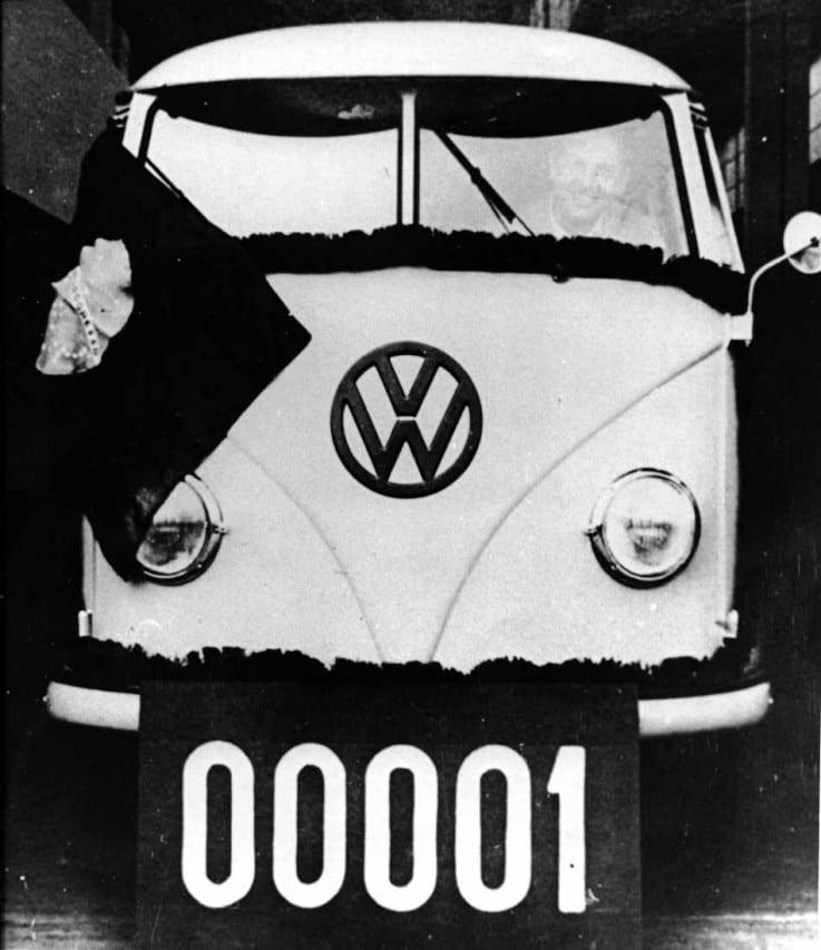 VW - 1957 - Kombi número 1