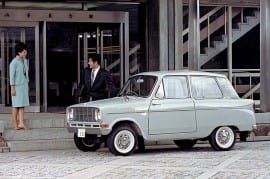 Mitsubishi Minica 1963