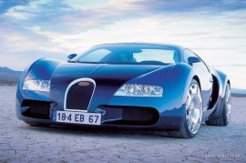 Bugatti EB 18-4 Veyron 1999
