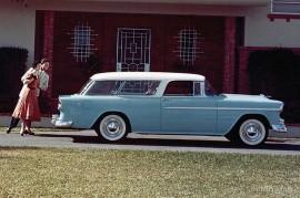 Chevrolet Bel Air Nomad Station Wagon 1955