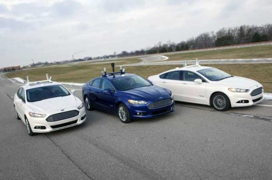 Ford Fusion Hybrid Automated Research Vehicle 01