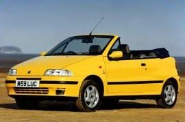 Fiat Punto Cabrio ELX