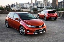 Austrália: Toyota Corolla