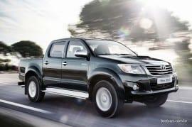 África do Sul: Toyota Hilux