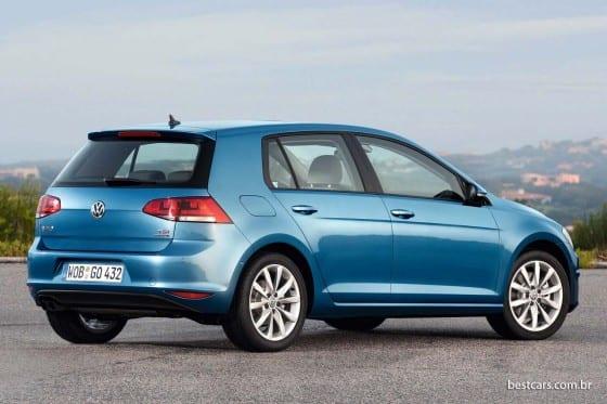 Áustria e Bélgica: Volkswagen Golf