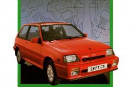 Suzuki Swift  GTi 1986