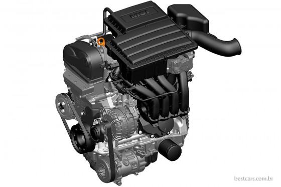 VW motor EA 211