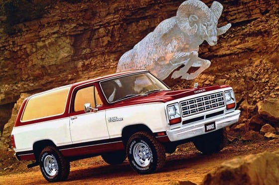 Dodge Ramcharger 1981