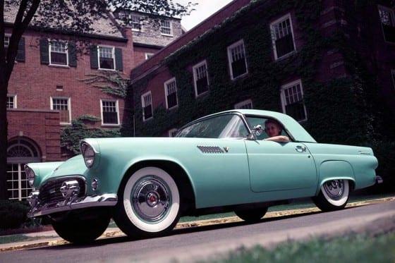 Salao de Detroit - 1954 - Ford Thunderbird