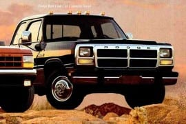 Dodge Ram Club Cab 1992