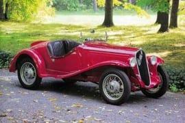 Ghia - Fiat 508S Balilla Spider 1933