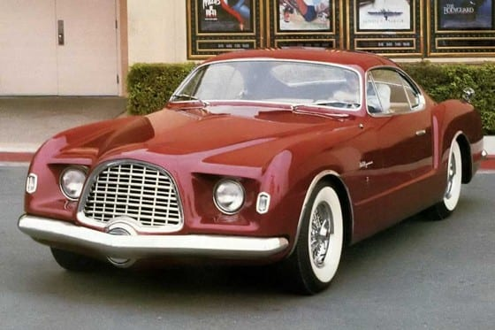 Ghia - Ghia Chrysler D Elegance 1953