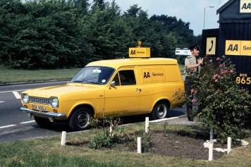 1968 Escort Panel Van