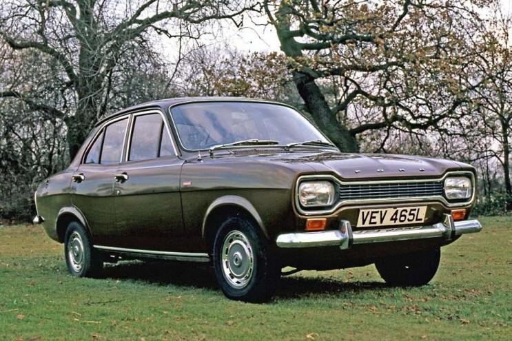 1972 Escort 1300 GT