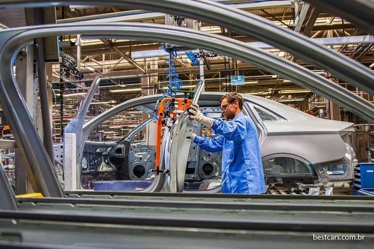 Audi A3 producao PR