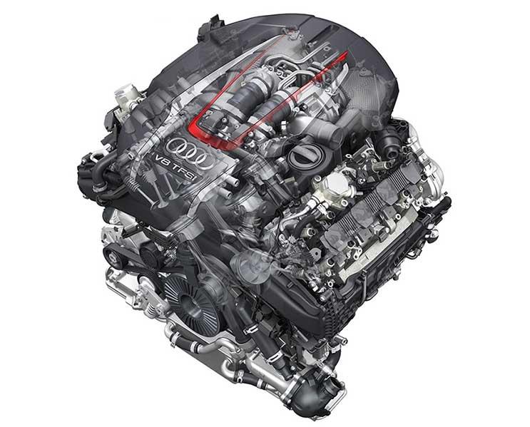 Motor Audi S8
