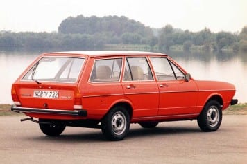 Alemanha - VW Passat 1974 Variant