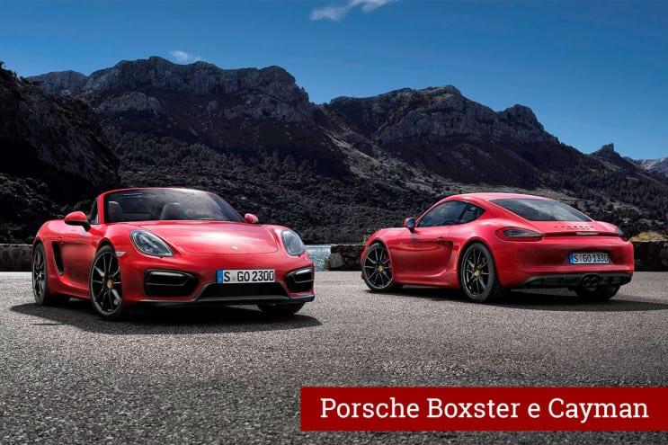 Porsche Boxster e Cayman