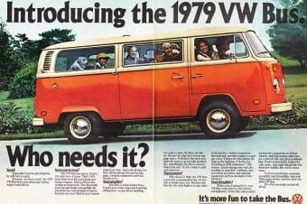 Nos EUA, a VW a chamava simplesmente de Bus, Truck ou Station Wagon