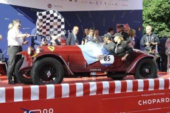 Tonconogy, Ruffini e Alfa, vencedores da Mille Miglia Storica