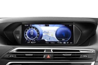 Na Citroën C4 Picasso, dois retornos: quadro central e instrumentos digitais