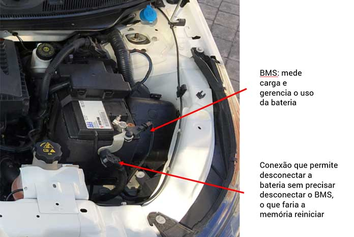 Fiat Argo Drive bateria
