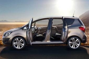 Depois do Rolls-Royce Phantom, a Opel Meriva relançou as portas abertas para trás