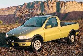 A Strada lançada em 1998: projeto moderno à época permitiu boa resistência ao tempo
