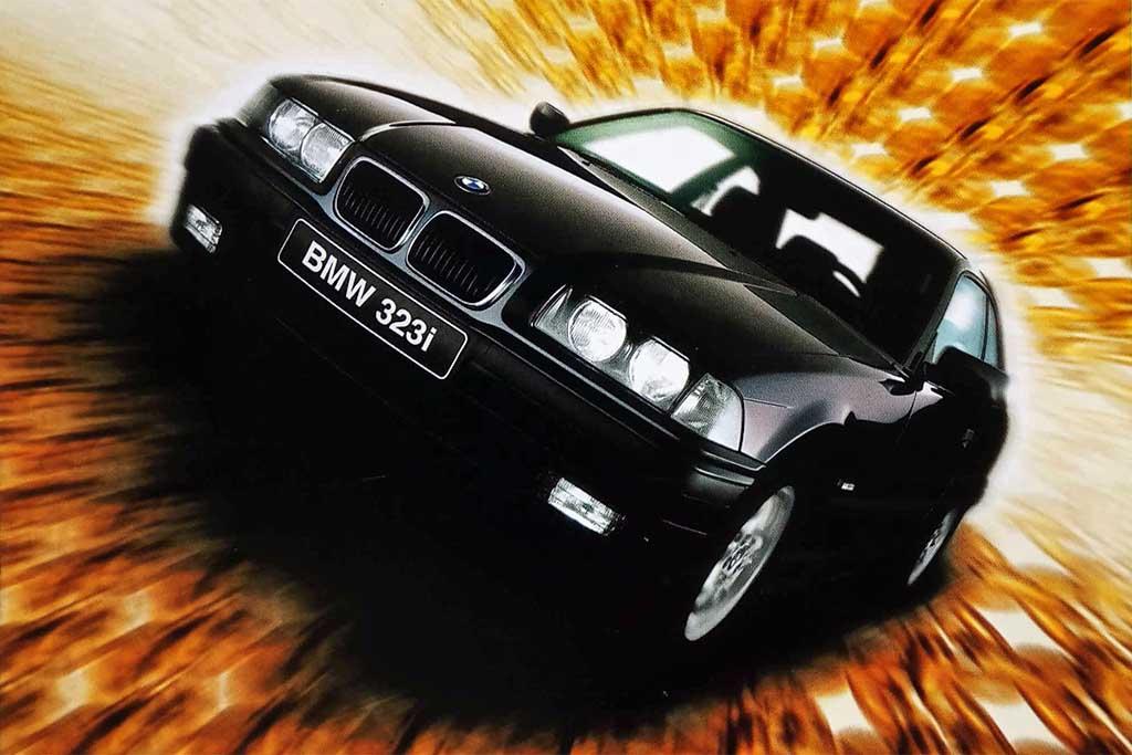 BMW E36 abre